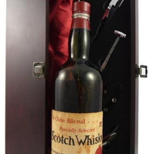1940's Ye Olde Blend Specially Selected Scotch Whisky bottled by Beverley Bros 70cl (1940's)