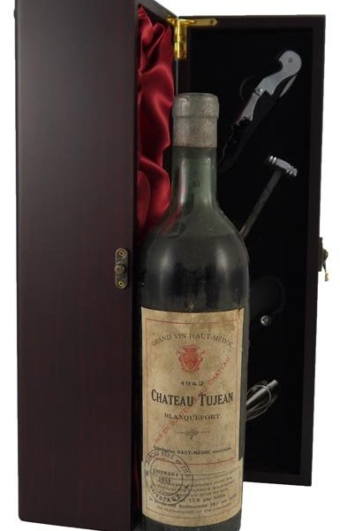 1942 Chateau Tujean Blanquefort 1942 Haut Medoc