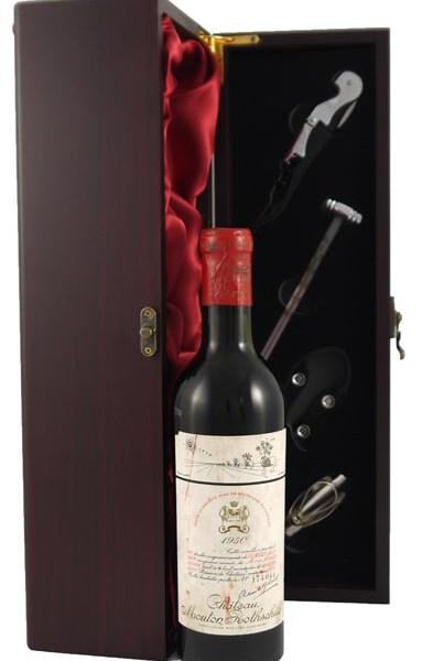 1950 Chateau Mouton Rothschild 1950 1er Cru Grand Classe Paulliac (1/2 bottle)