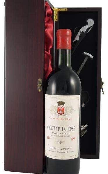 1959 Chateau La Rose 1959 Bordeaux