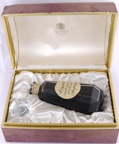 1960s Bottling Cognac Vieille Reserve de La Maison Asprey Pailloud (60s Bottling) Bacarrat Decanter