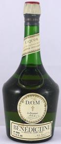 1960's bottling Benedictine Liqueur