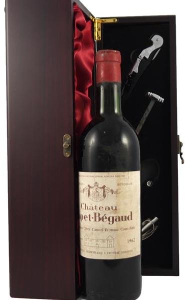 1962 Chateau Capet Begaud 1962 Bordeaux