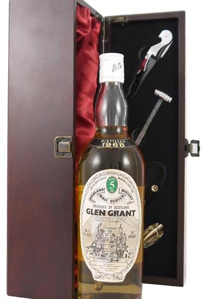 1968 Glen Grant 5 year old Highland Malt Whisky 1968