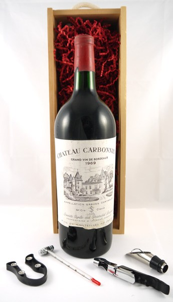 1969 Chateau Carbonnieux 1969 Grand Cru Classe Graves MAGNUM