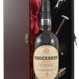 1975 Knockando 13 year old Malt Whisky 1975