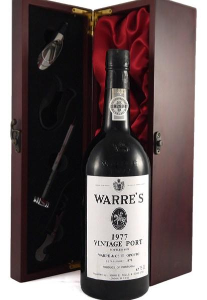 1977 Warre's Vintage Port 1977