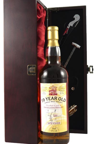 1978 Craigellachie 19 year old Single Malt Whisky 1978