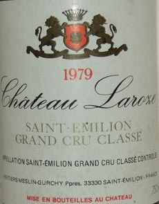 1979 Chateau Haut Piquat 1979 St Emilion