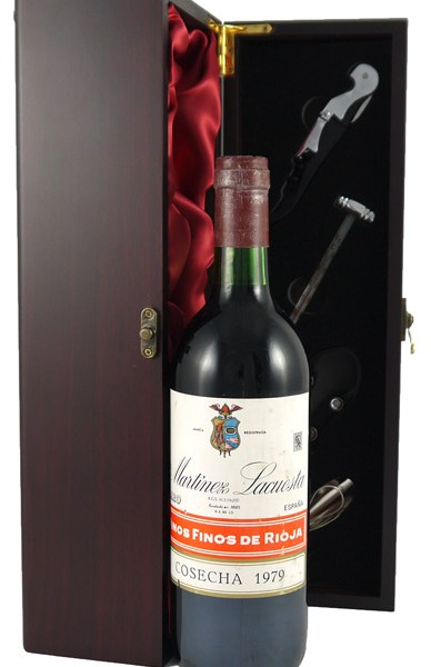 1979 Rioja Crianza 1979 Martinez Lacuestra