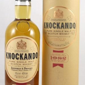 1982 Knockando 14 year old Single Malt Whisky 1982