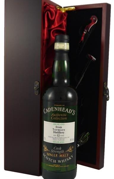 1984 Tormore 12 year old Highland Malt Whisky 1984 Cadenhead's Cask Strength