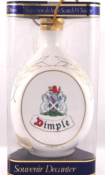 1986 Dimple Scotch Whisky 1986 Royal Australian Navy 75th Anniversary Edition