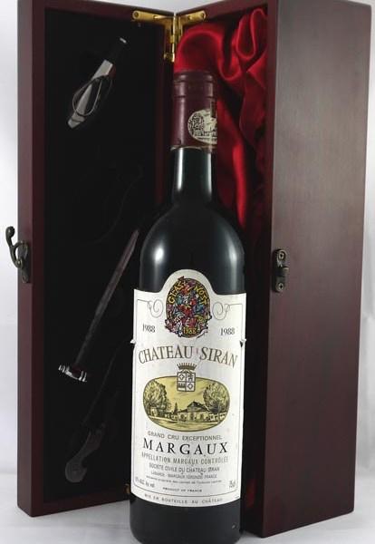 1988 Chateau Siran 1988 Margaux Grand Cru Exceptionnel