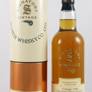 1988 Linkwood 12 year old Single Sherry Butt Malt Whisky 1988 Signatory Vintage