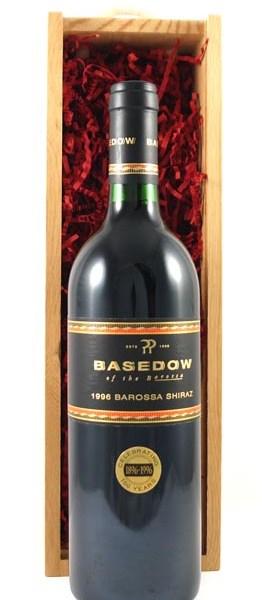 1996 Basedow 1996 Barossa Shiraz