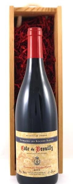 2010 Cote de Brouilly Vieilles Vignes 2010 Domaine Roches Bleues