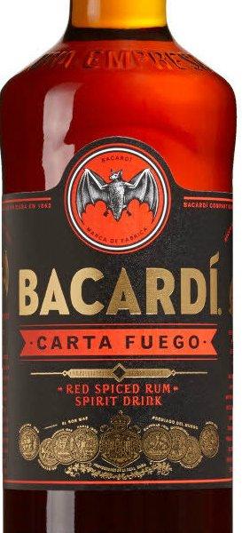 Bacardi - Carta Fuego 70cl Bottle