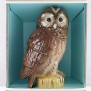 Beneagles Tawny Owl Whisky Decanter