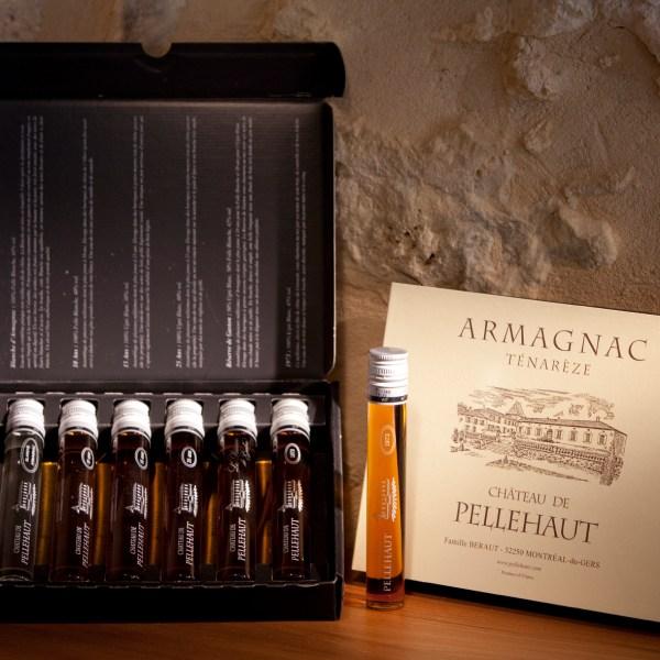 Château de Pellehaut Armagnac Tasting Selection Gift Box