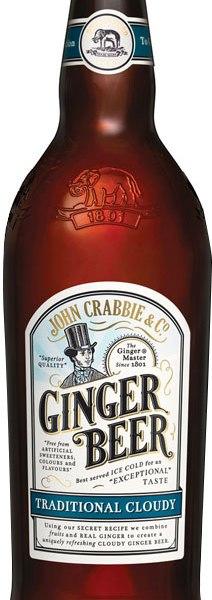 Crabbies - Alcoholic Ginger Beer 12x 500ml Bottles