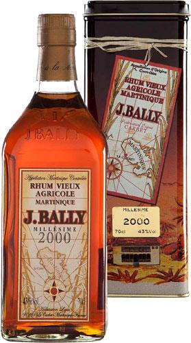 J Bally - Vintage 2002 70cl Bottle