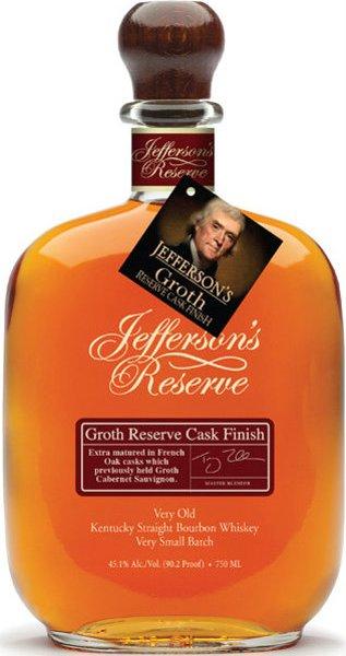 Jeffersons - Groth Reserve Cask Finish 70cl Bottle