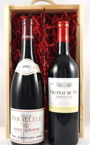 Red Bordeaux/Cotes Du Rhone Twin Pack