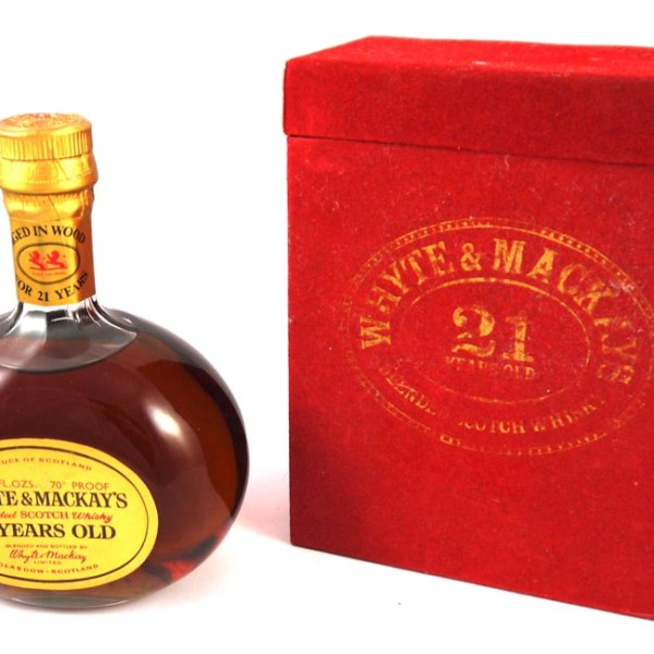 Whyte & Mackay 21 Year Old Scotch Whisky  1970s