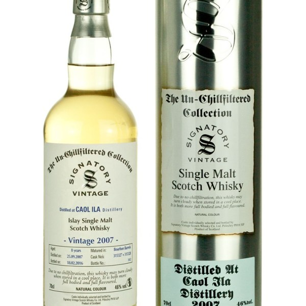 Caol Ila 8 Year Old 2007 Un-Chillfiltered
