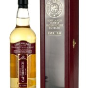 Caperdonich 20 Year Old 1996 Cadenhead's Authentic