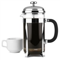 Chrome Cafetiere 8 Cup (Single)