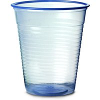 Disposable Water Cups Blue 7oz / 200ml (Sleeve of 50)