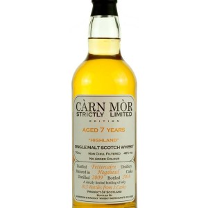 Fettercairn 7 Year Old 2009 Carn Mor Strictly