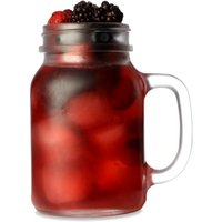 Frosted Mason Drinking Jar Glasses 20oz / 568ml (Case of 24)