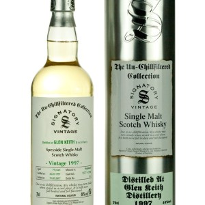 Glen Keith 19 Year Old 1997 Un-Chillfiltered