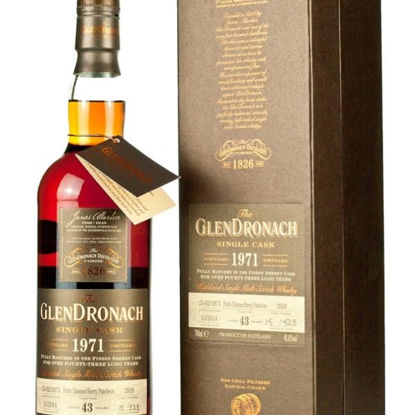 Glendronach 43 Year Old 1971 Batch 11