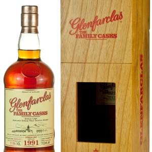 Glenfarclas 1991 Family Casks Release SP17