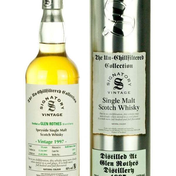 Glenrothes 18 Year Old 1997 Un-Chillfiltered