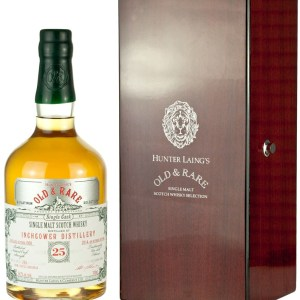 Inchgower 25 Year Old 1989 Old & Rare