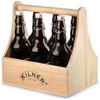 Kilner 7 Piece Clip Top Home Brew Bottle Caddy Set