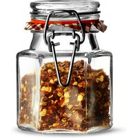 Kilner Hexagonal Clip Top Spice Jar 90ml (Case of 12)