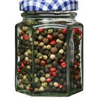 Kilner Hexagonal Twist Top Jar 110ml (Single)
