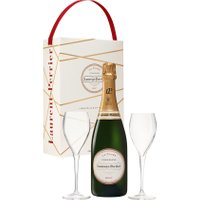 Laurent Perrier - La Cuve Twin Flute Gift Pack 75cl Bottle