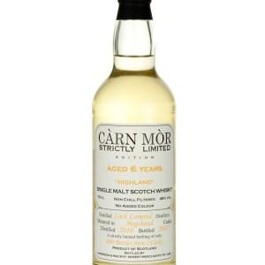 Loch Lomond Croftengea 6 Year Old 2010 Carn Mor Strictly Limited
