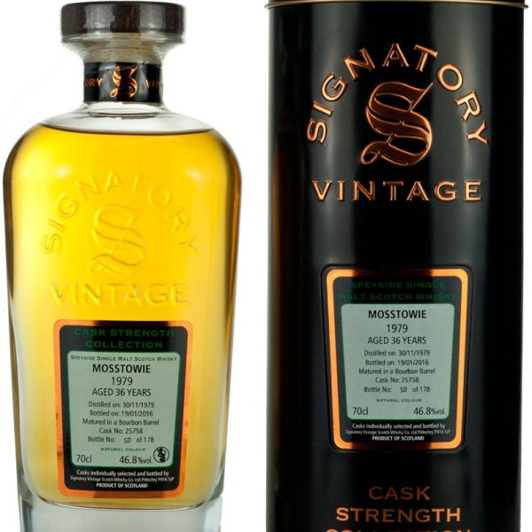 Mosstowie 36 Year Old 1979 Signatory Cask Strength
