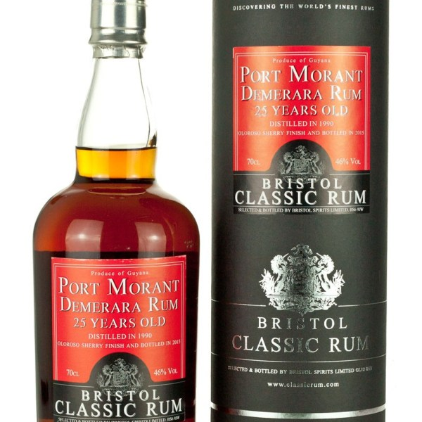 Port Mourant Guyana 25 Year Old 1990 Bristol Classic