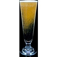 Strahl Da Vinci Polycarbonate Footed Pilsner Glasses 14oz / 400ml (Set of 4)