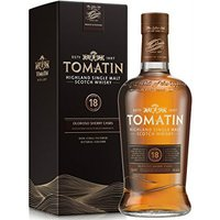 Tomatin - 18 Year Old 70cl Bottle