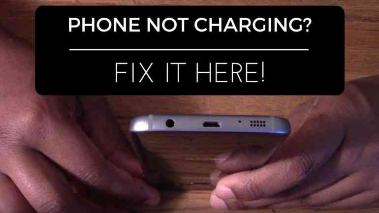 fix samsung s7 not charging
